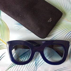 Celine Marta Blue Sunglasses 41093/S